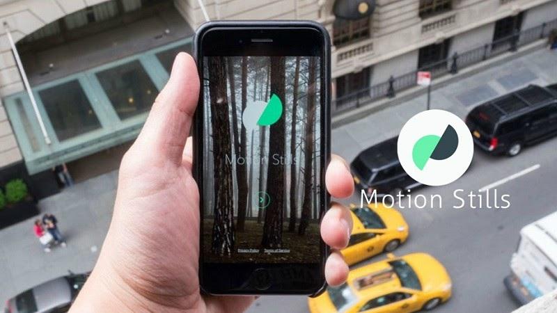 Ứng dụng Motion Stills giúp bạn có những bức ảnh động độc đáo
