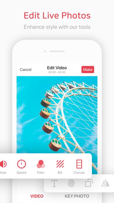 Ứng dụng intoLive giúp bạn tạo live photo từ video một cách dễ dàng