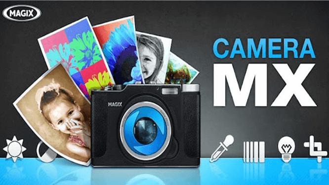 Camera MX rất thân thiện với người dùng