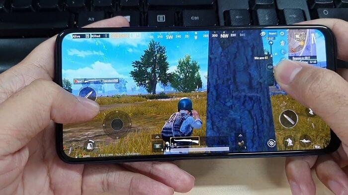 Chơi game PUGB Mobile trên vivo S1