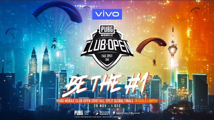 vivo là nhà tài trợ chính thức của PUBG Mobile Club Open 2019