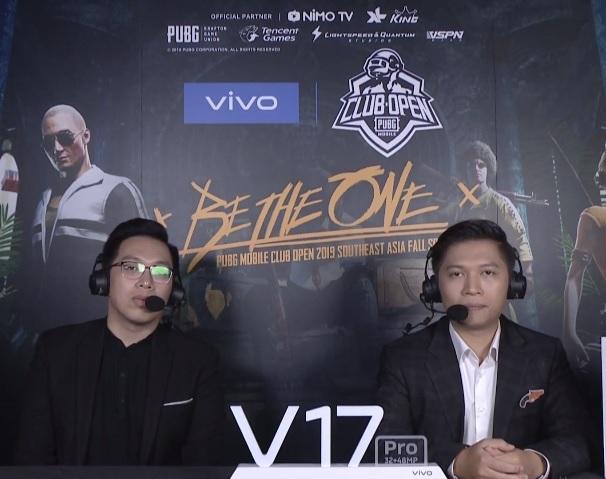 Vòng chung kết giải đấu Đông Nam Á,  vivo V17 Pro đã được game thủ sử dụng