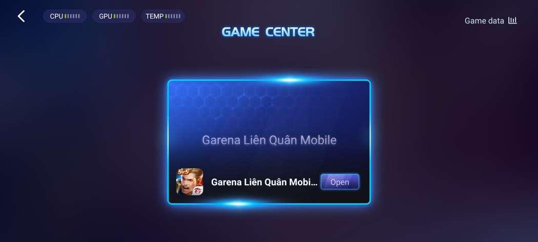 tính năng trung tâm trò chơi trên điện thoại vivo