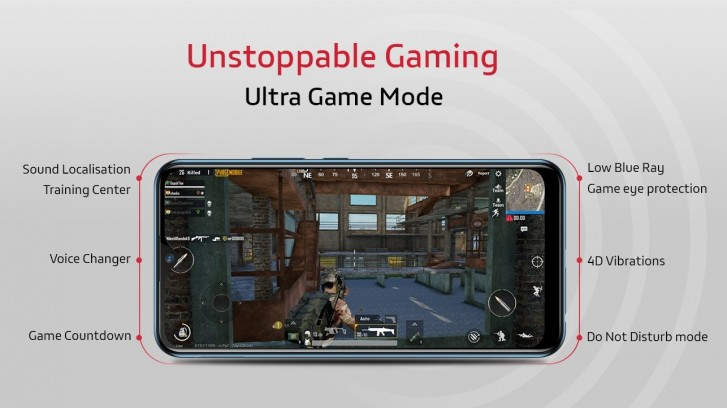 ultra game mode vivo y15