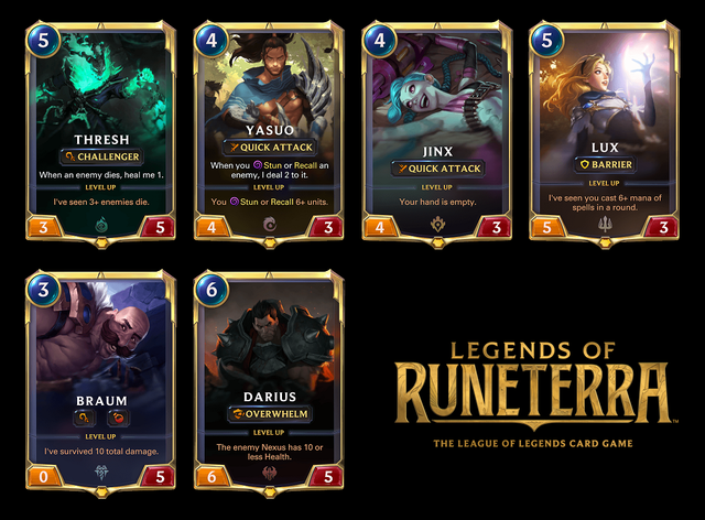 Game sử dụng những lá bài mang danh các vị tướng trong LMHT