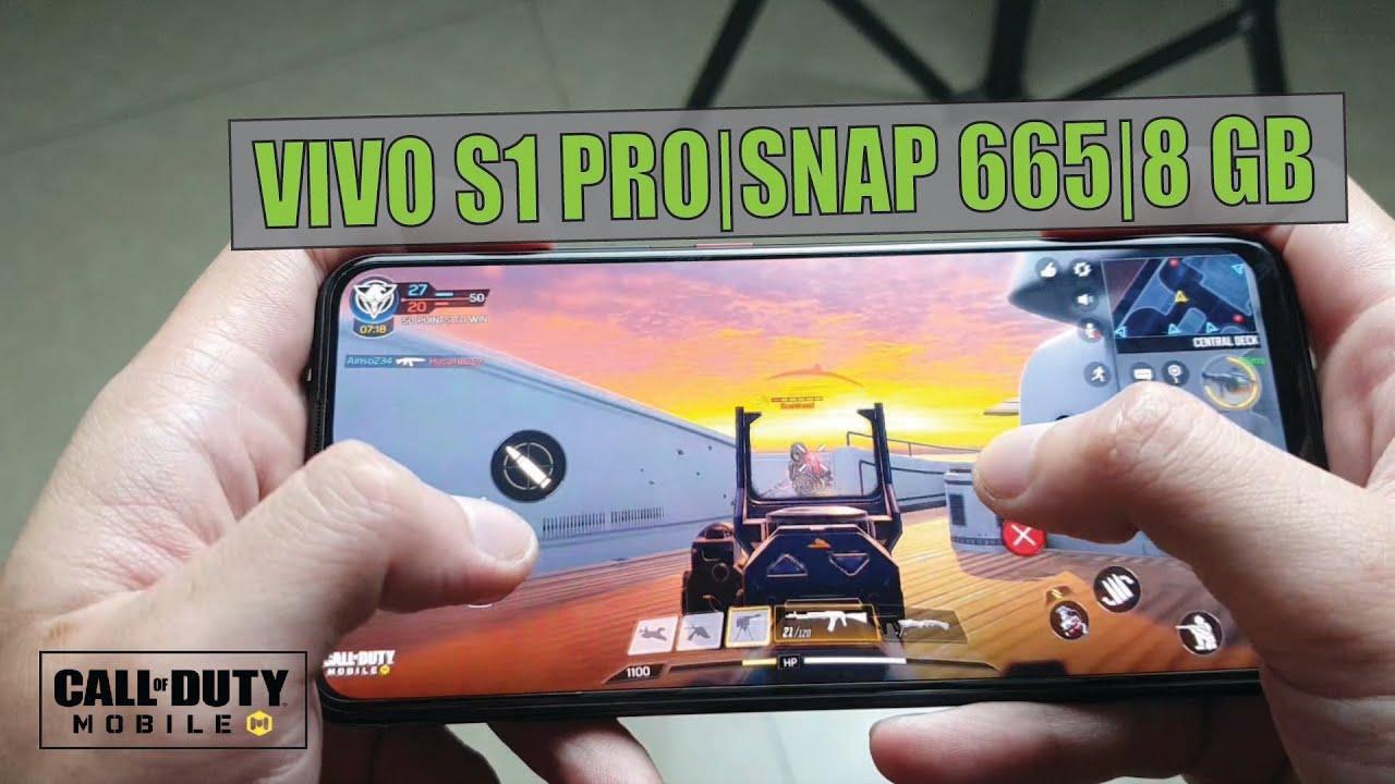 Với cấu hình mạnh mẽ vivo S1 Pro sẵn sàng chiến game tốt