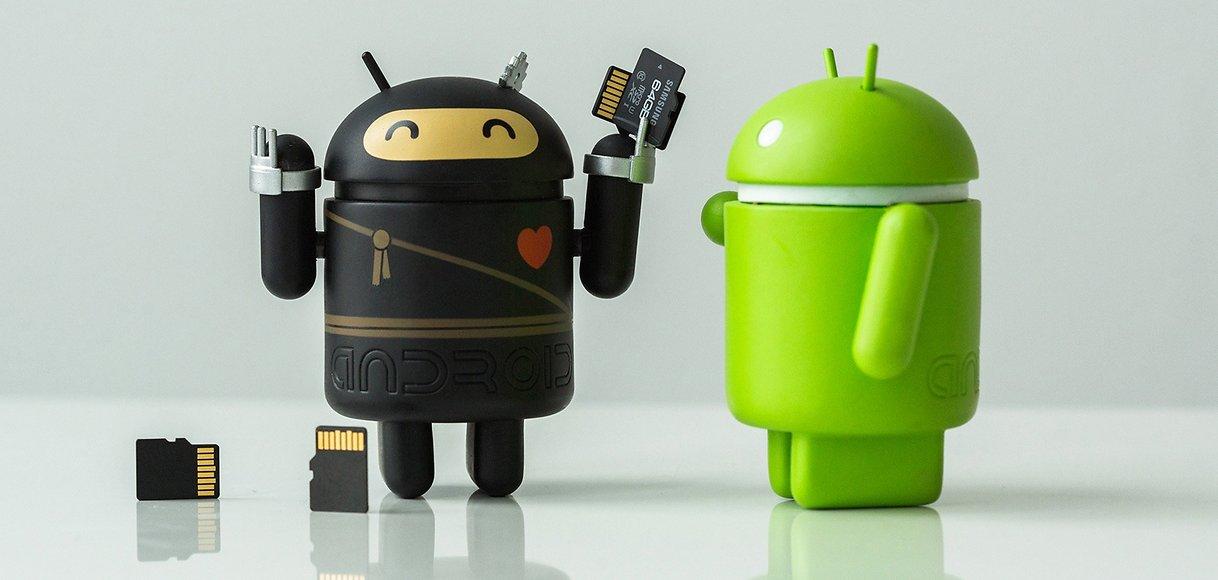 điện thoại android bị đầy bộ nhớ