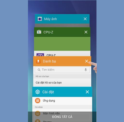 Ứng dụng chạy ngầm trên smartphone khiến điện thoại bị giật lag