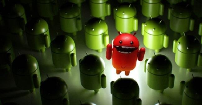 Điện thoại Android có thể bị nhiễm virus