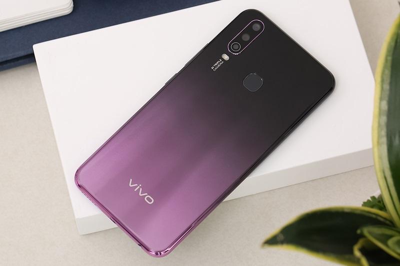 Vivo Y17 sở hữu màn hình tràn Halo kích thước 6.35 inch