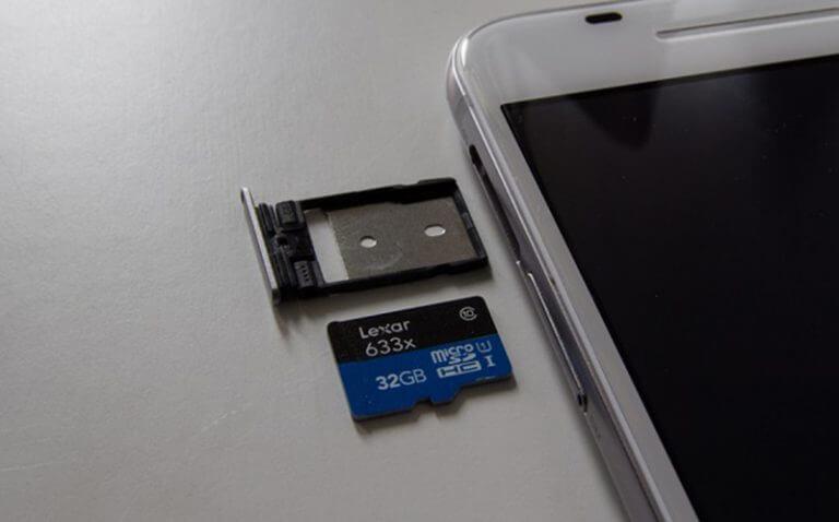 Khắc phục lỗi máy báo hỏng thẻ nhớ trên điện thoại Android