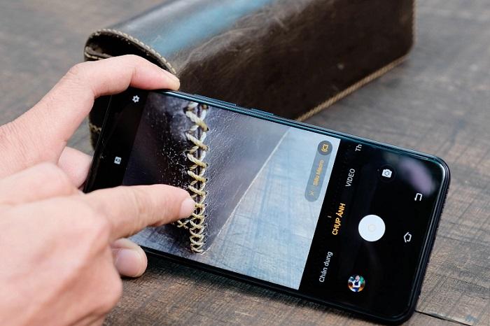 chụp ảnh macro bằng điện thoại: vivo y19