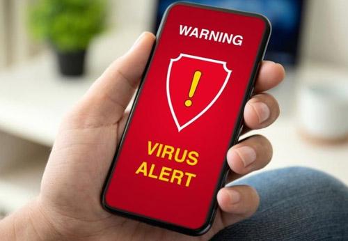 Điện thoại dính phải virus