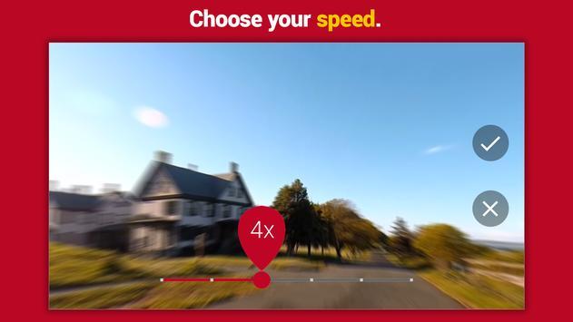 Có thể tăng tốc video lên đến 32 lần