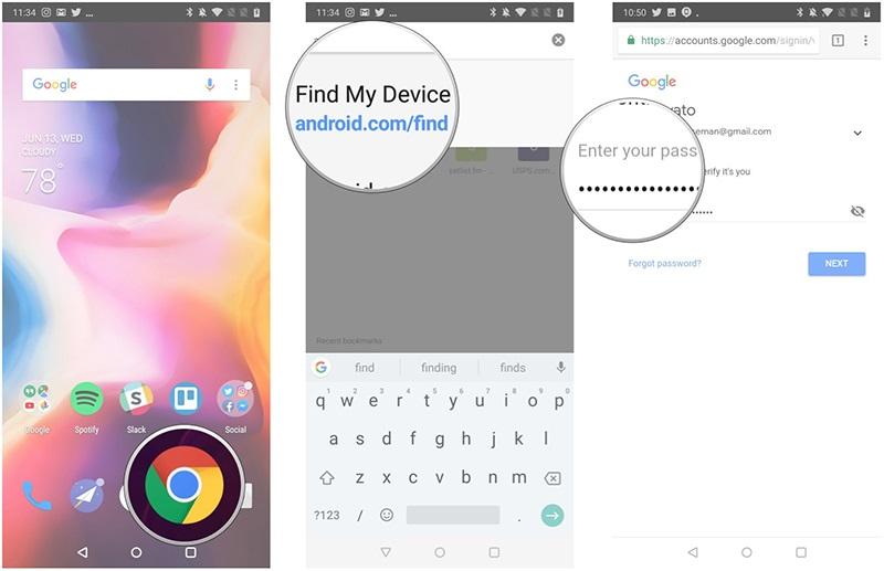 Định vị điện thoại Android bị mất được thực hiện đơn giản qua Google