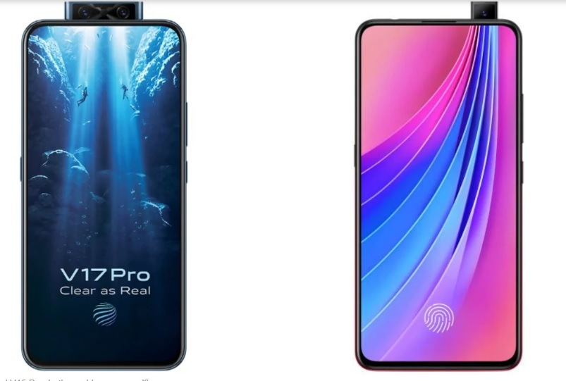 Điện thoại vivo V17 Pro và vivo V15
