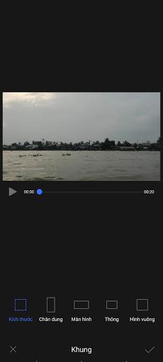 Chọn khung ưng ý cho video