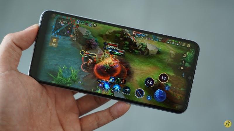 Khả năng chơi game trên vivo Y20 khá ấn tượng với Snapdragon 460