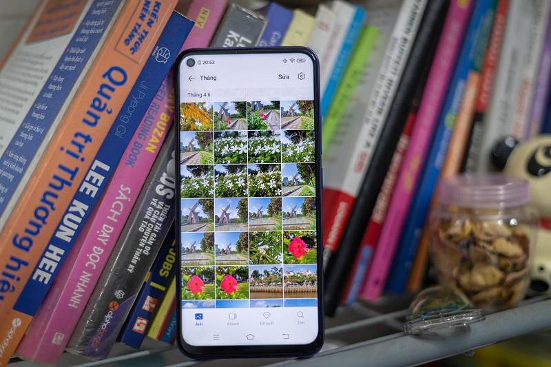điện thoại màn hình nốt ruồi vivo Y50