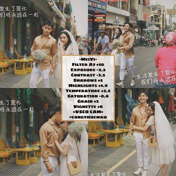 công thức chỉnh ảnh phong cách hongkong