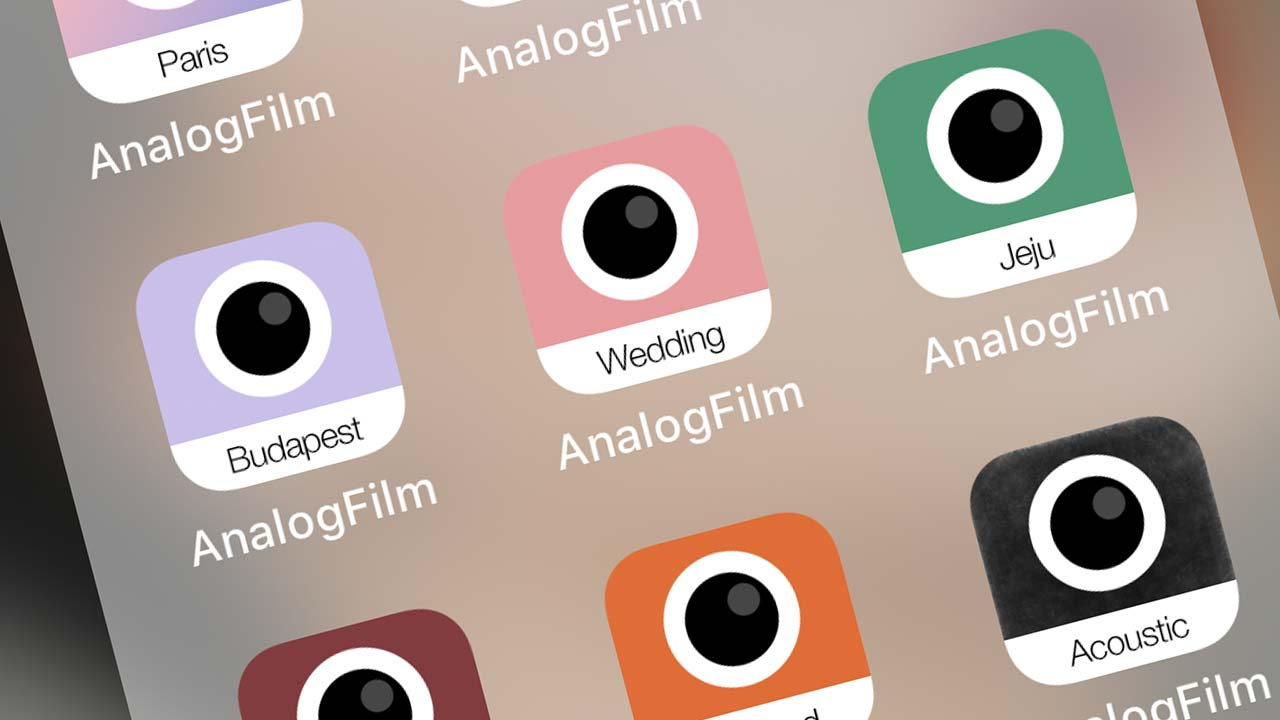 App chỉnh màu đẹp: Analog Film