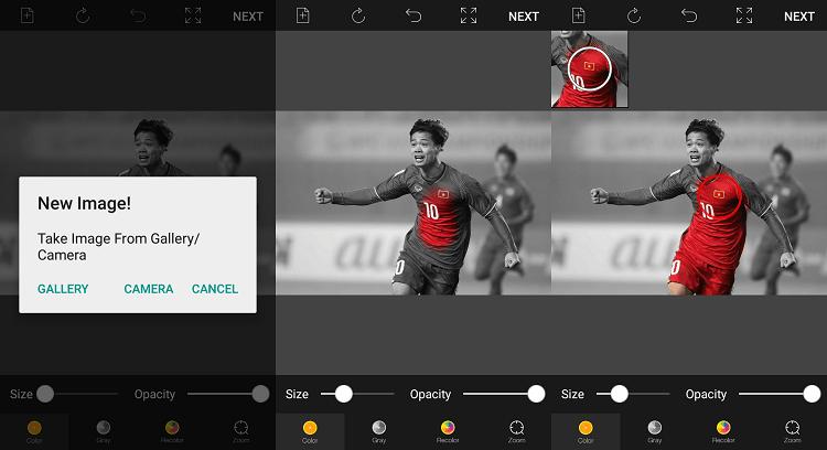 App chỉnh màu đẹp: Color Pop