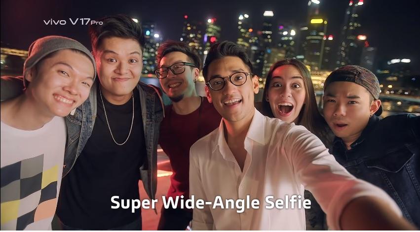 selfie góc siêu rộng