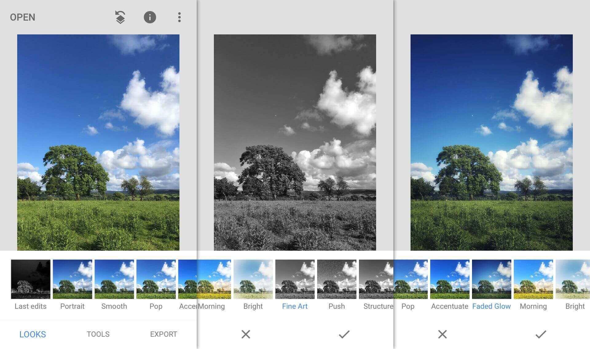 App chỉnh sửa ảnh đẹp nhất: Snapseed
