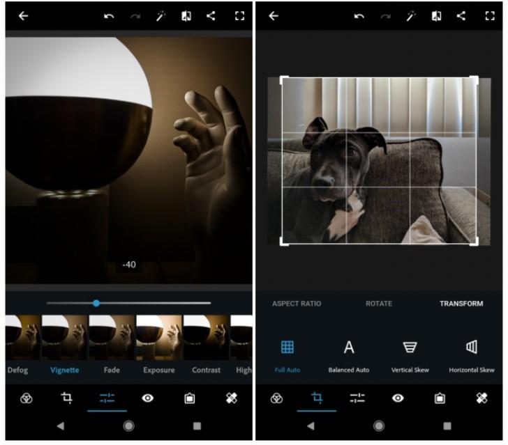 App chỉnh sửa ảnh đẹp nhất: Photoshop Express