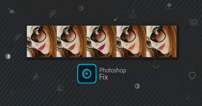 App chỉnh ảnh Adobe Photoshop Fix