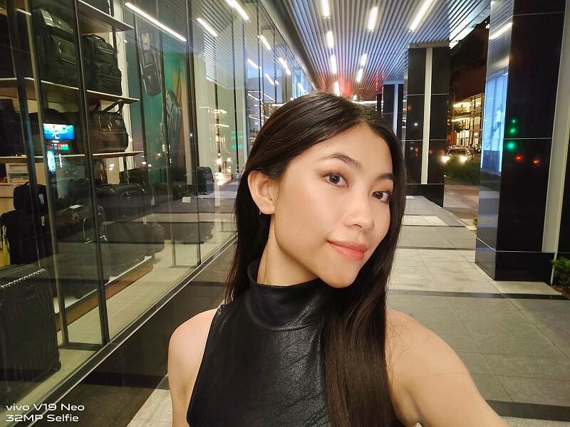 Thành quả bức ảnh selfie được làm đẹp AI