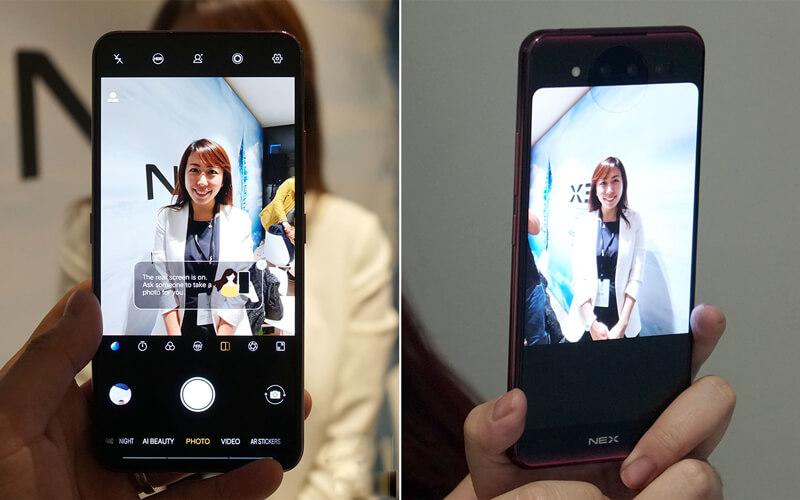 Camera selfie với nhiều chế độ làm đẹp khác nhau