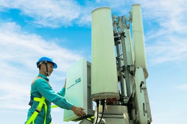 Viettel đã  lắp đặt các trạm thu phát sóng 5G ở TPHCM
