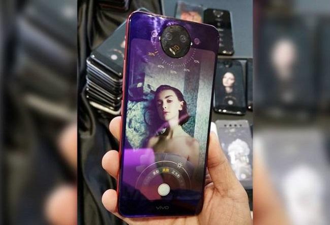 Selfie trên điện thoại vivo nex 2 màn hình 360 độ