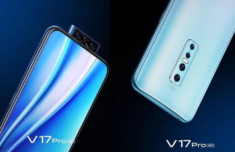 Vivo V17 Pro mặt bên siêu mỏng
