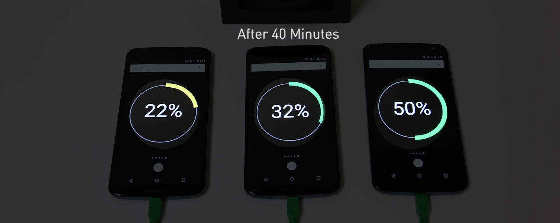 Công nghệ sạc nhanh trên điện thoại