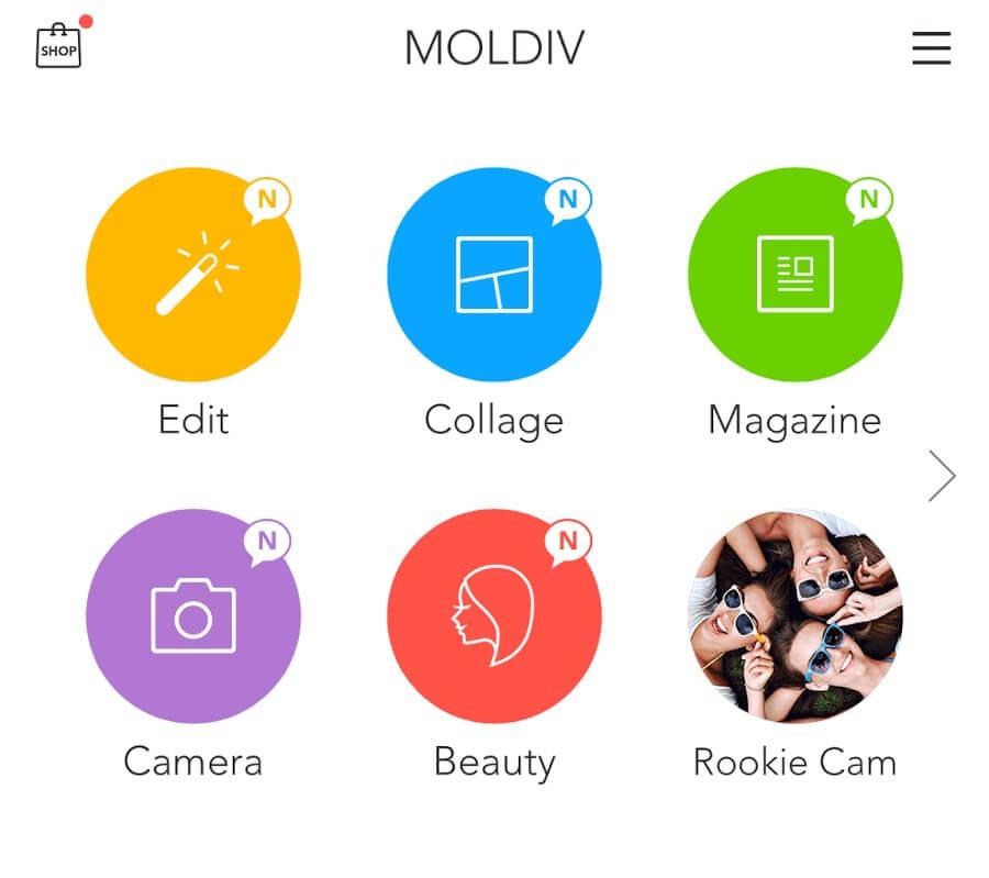 Thế mạnh của Moldiv là ghép ảnh
