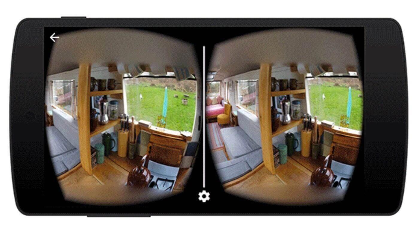 Xem ảnh qua tầm nhìn của kính thực tế ảo