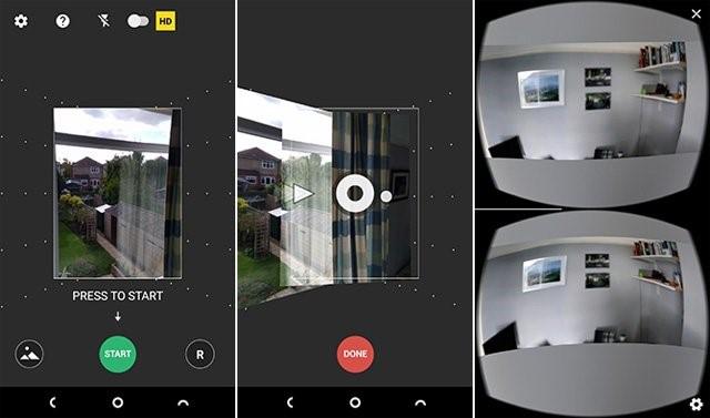 Camera Panorama 360 chụp ảnh phong cảnh 360 độ