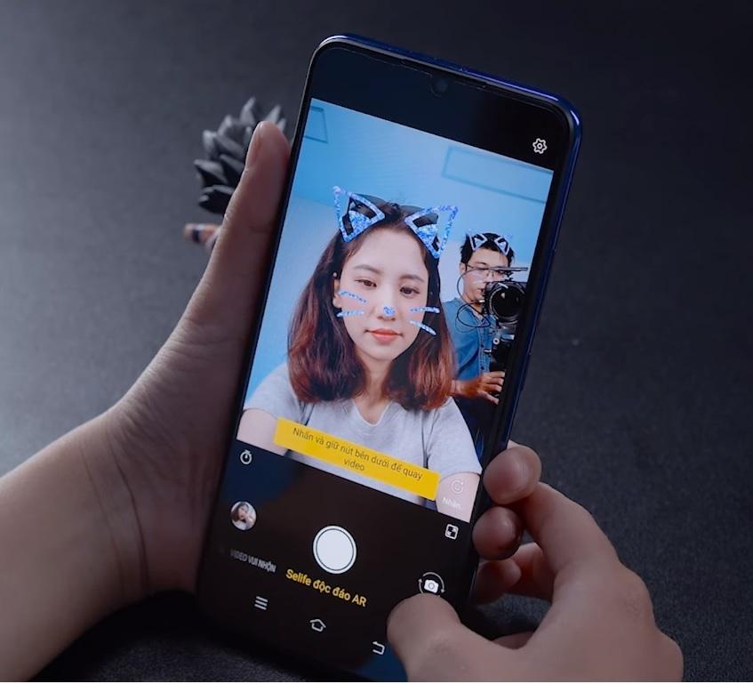 Chế độ selfie độc đáo AR