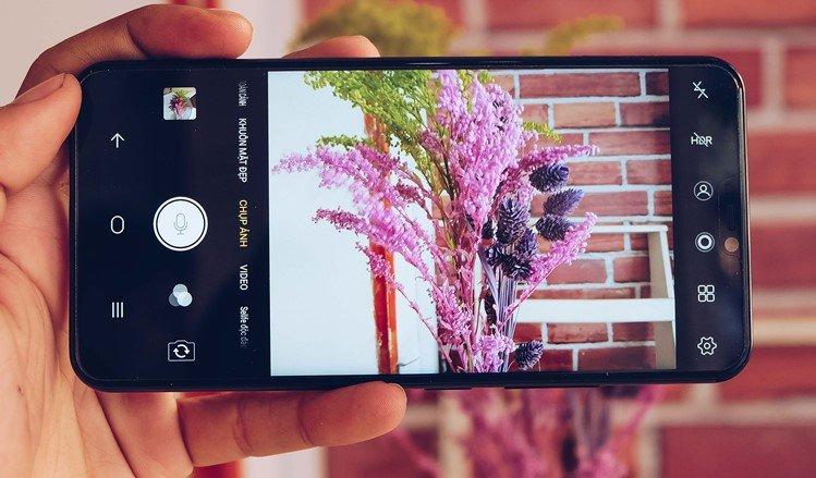phần mềm chụp ảnh làm mờ hậu cảnh cho android - vivo