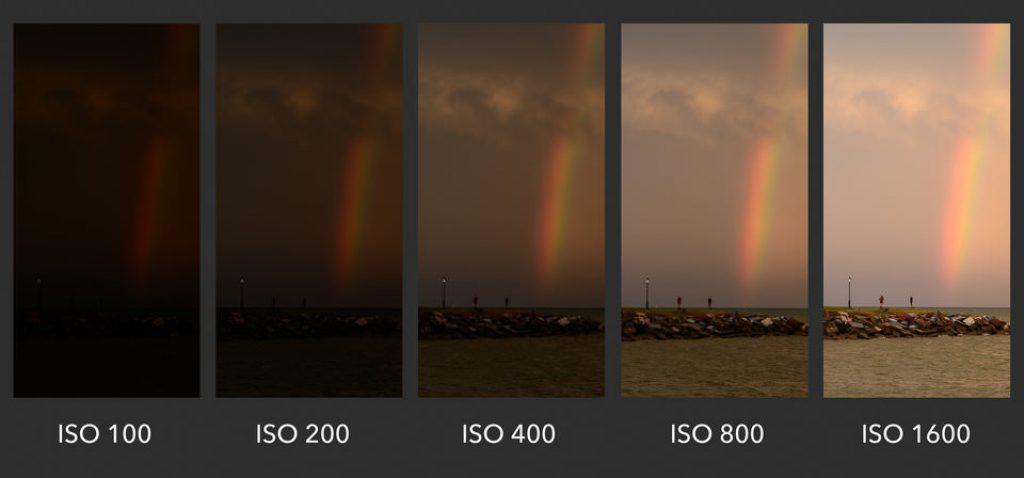 Đối với ảnh phơi sáng, điều chỉnh ISO càng thấp, hình ảnh càng rõ nét