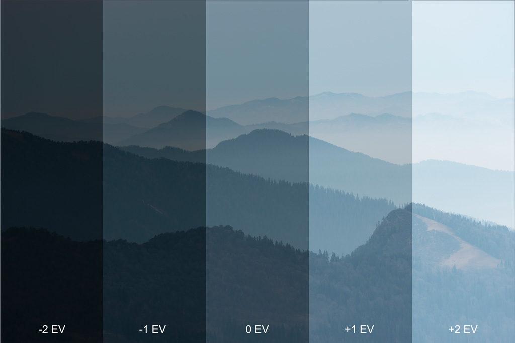 Điều chỉnh độ bù sáng để tăng giảm độ sáng của bức ảnh