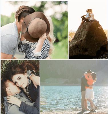 Mẹo giúp những cặp đôi có được các kiểu chụp hình dễ thương