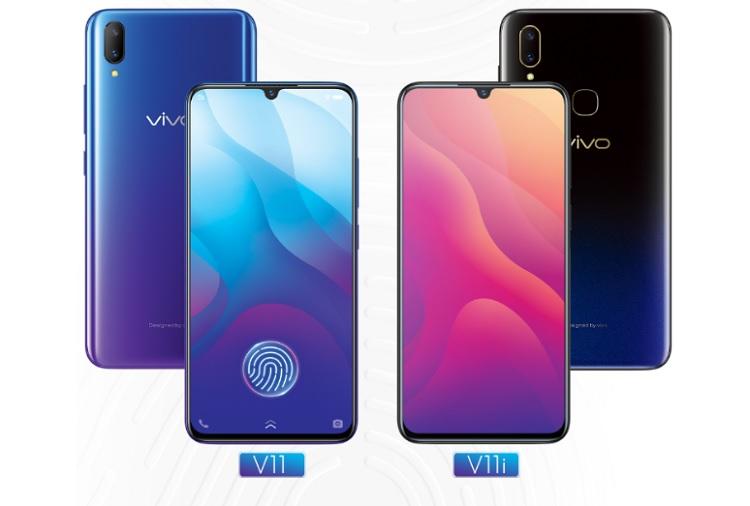 Điện mạo của điện thoại vivo V11 và vivo V11i