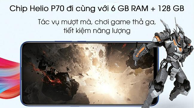 Chip mạnh, bộ nhớ khủng cho phép bạn tải và chơi game thả ga
