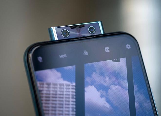 Camera pop up của vivo V17 Pro
