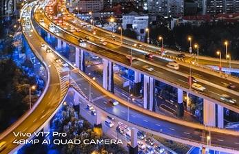 Ảnh chụp thành phố đêm bằng vivo V17 Pro