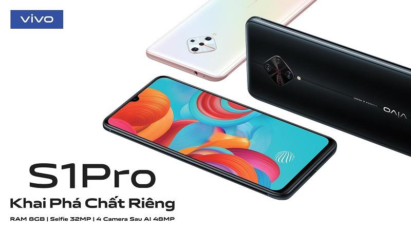 Thiết kế đầy phong cách, sang trọng vivo S1 Pro