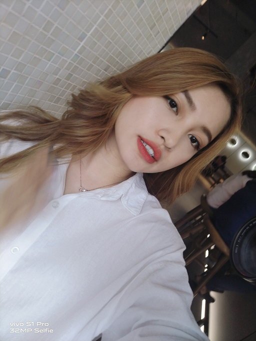 camera selfie vivo S1 Pro
